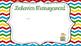 Open House PowerPoint Primary Chevron Editable