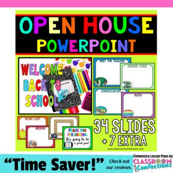Open House Powerpoint: Back to School Night Powerpoint