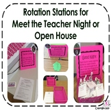 Open House Rotation Station Activity
