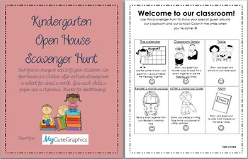 Open House Scavenger Hunt