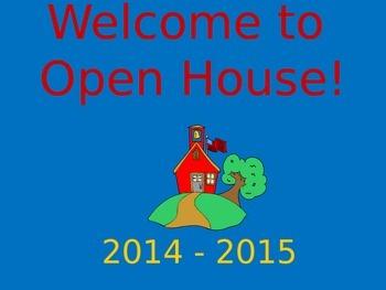Open House Slide Show