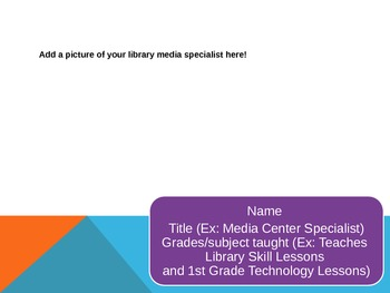 Open House or Parent Night PPT