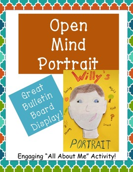 Back to School Self Portrait - All About Me