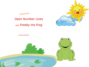 Open Number Line Subtraction with Freddy the Frog