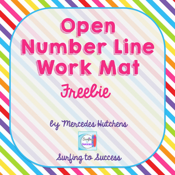 Open Number Line Template Free