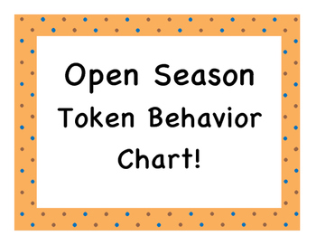 Open Season Token Behavior Chart!