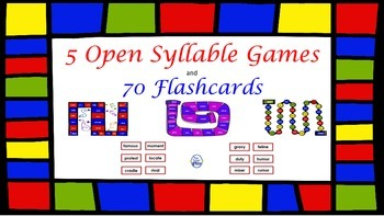 Open Syllable Games