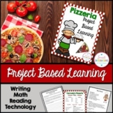 PROJECT BASED LEARNING: OPEN A PIZZERIA With Math, Writing