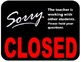 Open and Closed Sign Cafe Theme