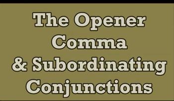 Opener Comma Video