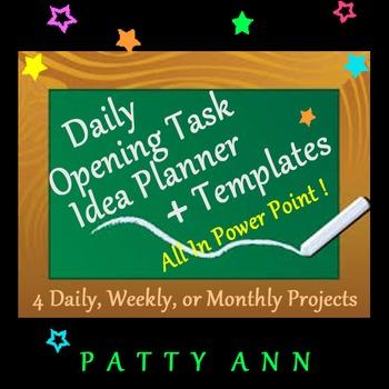 Classroom Planner Template 4 Classtime > 4 All School Subj
