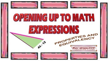Opening Up to Math Expressions