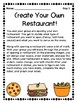 Opening a Restaurant- Individual and Group Guide Bundled!
