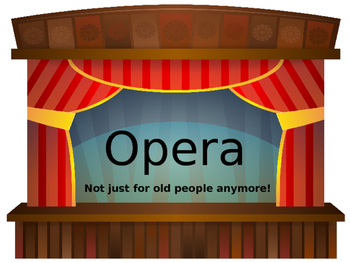 Opera History Presentation (BRIEF!) with an Oral Review, a