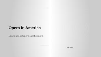 Opera In America
