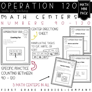 Operation 120: A Number Sense Packet Targeting Numbers 90-