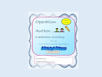 Writing Workshop, Operation Author Part One Successful Aut