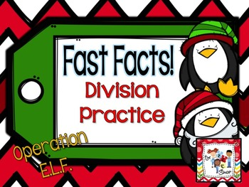 FREE! Fast Facts - Division Practice