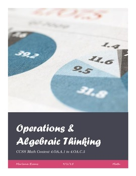 Operations & Algebraic Thinking Assessments