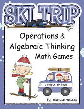 Operations & Algebraic Thinking Games, Centers, Printables