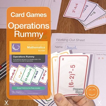 Operations Rummy | advanced card game to practice the orde