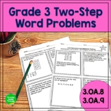 Operations and Algebraic Thinking Worksheets: Word Problem