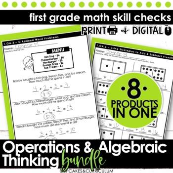 Operations and Algebraic Thinking BUNDLE - First Grade Pri