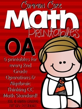 Operations and Algebraic Thinking Math Printables for Seco