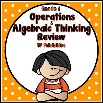 First Grade Math Review - Operations and Algebraic Thinkin