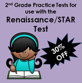 4 Math Study Guides for STAR / Renaissance Test Prep for 2