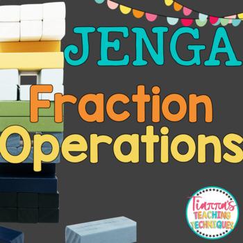 Operations of Fractions JENGA