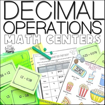 Operations with Decimals Centers