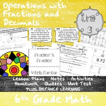 Operations with Fractions and Decimals -(6th Grade Math TE