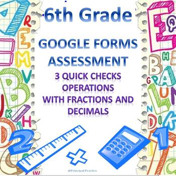 Operations with Fractions and Decimals Quick Checks Google
