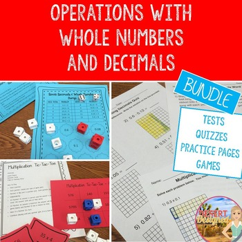 Operations with Whole Numbers and Decimals Unit
