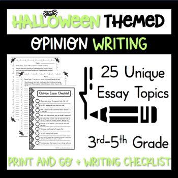 Opinion Essay Writing Workshop October Lessons and Hot Top