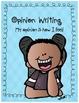 Opinion, Informative, & Narrative Pre-writing & Writing: May