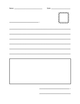 Opinion Letter Writing Paper
