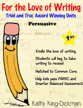 Opinion Persuasive 1st Grade