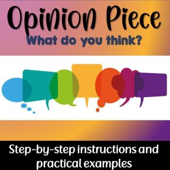 Opinion Piece Bundle