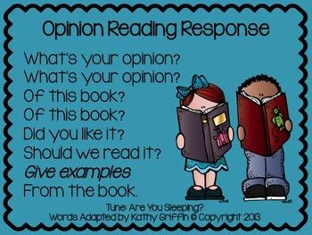 Opinion Reading Response FREEBIE