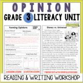 Opinion Writing and Reading Grade 3