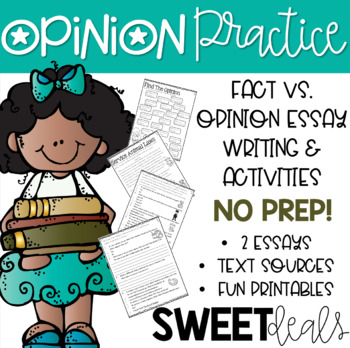 Opinion Worksheets