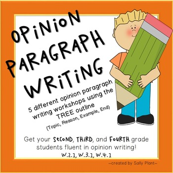 Writing Opinion Paragraphs