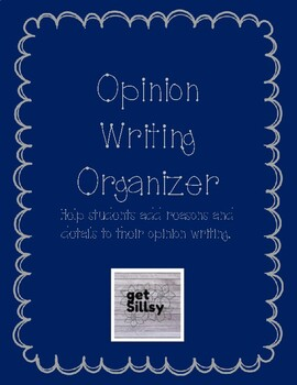 Opinion Writing Beginning Organizer