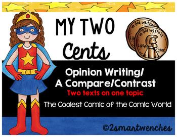 Opinion Writing- DC and Marvel Comics