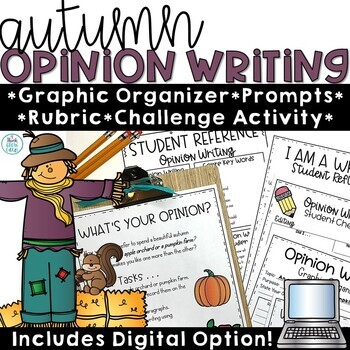 Fall Opinion Writing Prompts