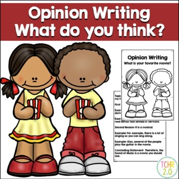Opinion Writing Prompt Favorite Movie