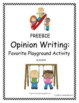 Playground FREEBIE