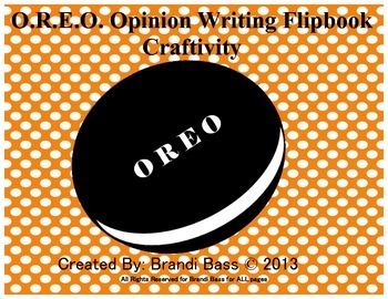 Opinion Writing Flipbook Craft: Reference Tool and Prompt